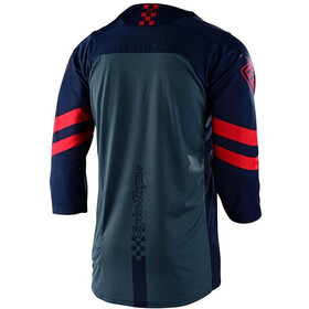 Troy Lee Designs Ruckus Factory Camo 3/4 Maillot, navy/red